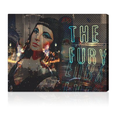 ''The Fury'' Graphic Art on Canvas