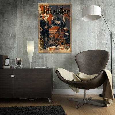 Oliver Gal ''The Intruder'' Vintage Advertisement on Canvas