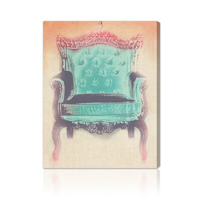 Oliver Gal The Throne Canvas Wall Art