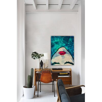 Oliver Gal ''Watercoveted'' Graphic Art on Canvas