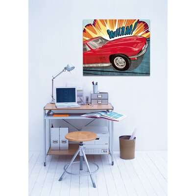 Oliver Gal ''Wham'' Canvas Art Print