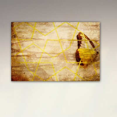 Oliver Gal ''Mariposa'' Graphic Art on Canvas