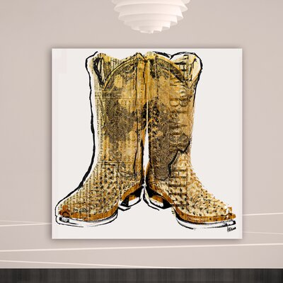 Oliver Gal ''Made for Walkin'' Graphic Art on Canvas