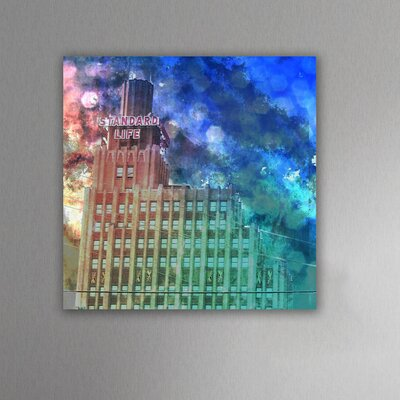 "Oliver Gal ""Standard Life"" Canvas Wall Art"