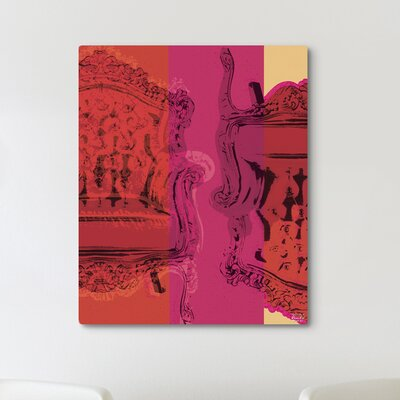 "Oliver Gal ""Viceversa"" Graphic Art on Canvas"