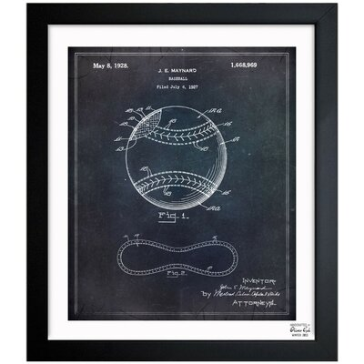 Baseball 1928 Framed Graphic Art