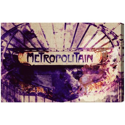Metropolitain Graphic Art on Canvas