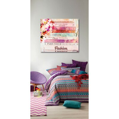Oliver Gal Romantica Spring Canvas Wall Art