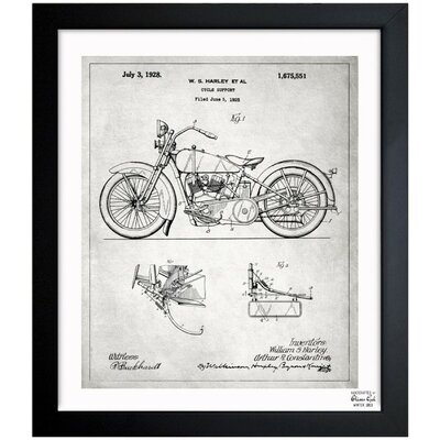 Harley 1928 Framed Graphic Art