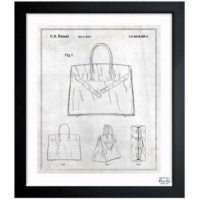 Birkin Handbag 2009 Framed Graphic Art