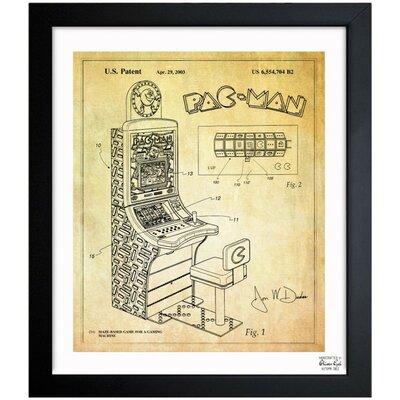 Maze Based Game 2003 Framed Graphic Art