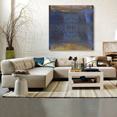 Oliver Gal ''Golden Beach'' Canvas Wall Art