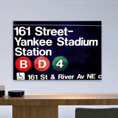 Oliver Gal Yankee Stadium Canvas Art