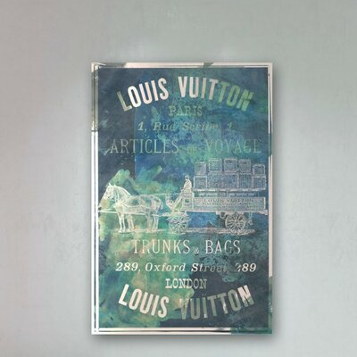 Oliver Gal Articles on The Water Vintage Advertisement on Canvas