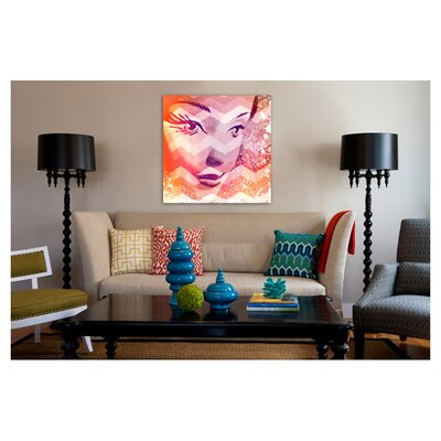 "Oliver Gal ""Doll in Orangina"" Canvas Art Print"