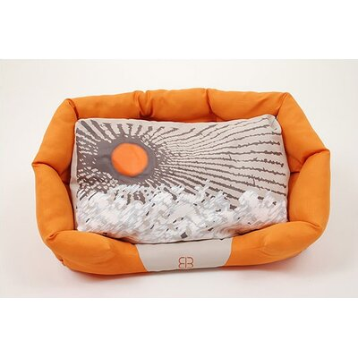 PetEgo Sun Blossoms Bolster Dog Bed
