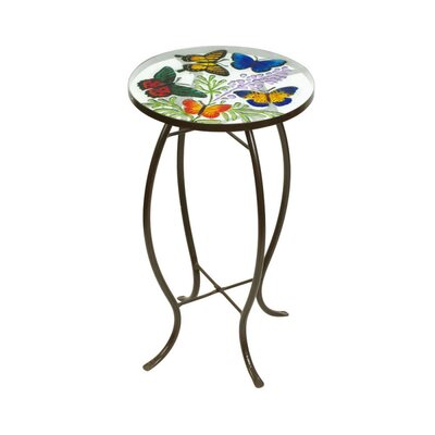 Outdoor Décor Butterflies Side Table