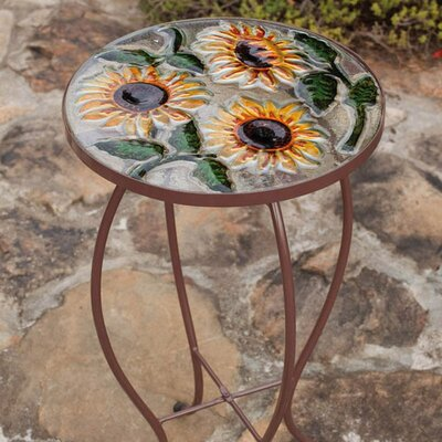 Sunflowers Side Table