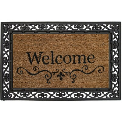 Evergreen Flag & Garden Welcome Doormat