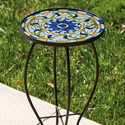 Tiffany-Inspired Vine Side Table