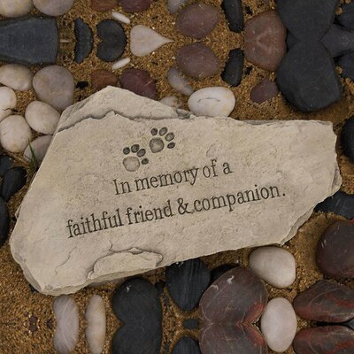 Pet Memorial Stepping Stone