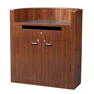 Sound Craft Veneer Bow Front Lectern