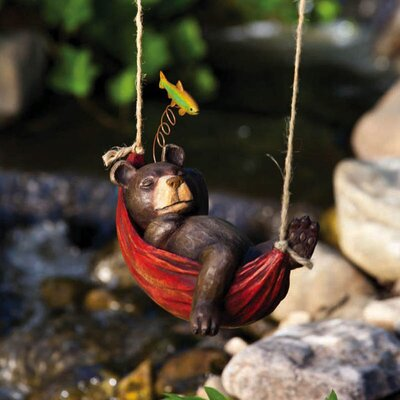 Garden Friends Day Dreamers Bear Statue