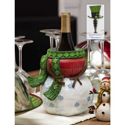 Flurries Resin Wine Bottle Holder