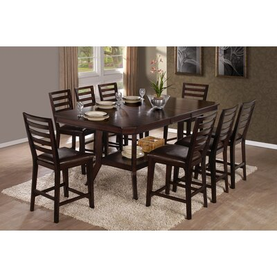 Progressive Furniture Inc. Bobbie 9 Piece Counter Height Dining Set