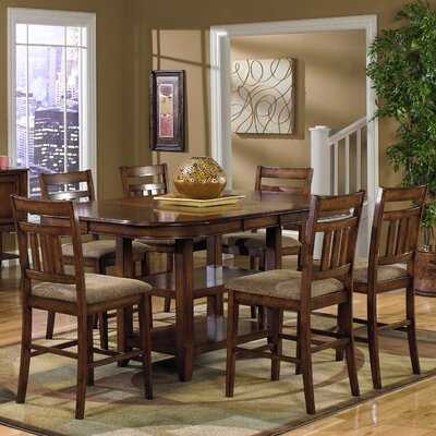 Progressive Furniture Inc. Fargo 7 Piece Counter Height Dining Set