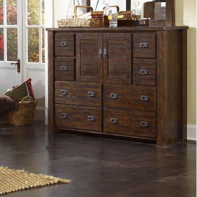 Trestlewood 8 Drawer Dresser Wayfair