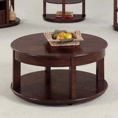 Progressive Furniture Sebring Castered Round Coffee Table Reviews Wayfair