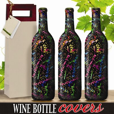 Kimco Products Celebration Wine Bottle Cover