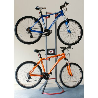 Platinum Series 2 Bike Freestanding Storage Rack