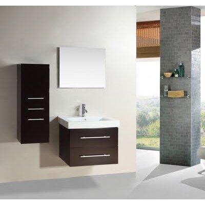 """Kokols 28"""" Single Sink Bathroom Vanity Set"""