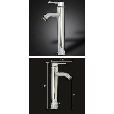 """Kokols 29"""" Pedestal Glass Sink Bathroom Vanity Set"""