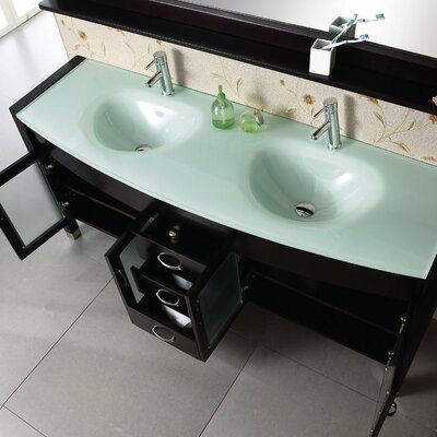 Kokols Double Sink Bathroom Vanity Set