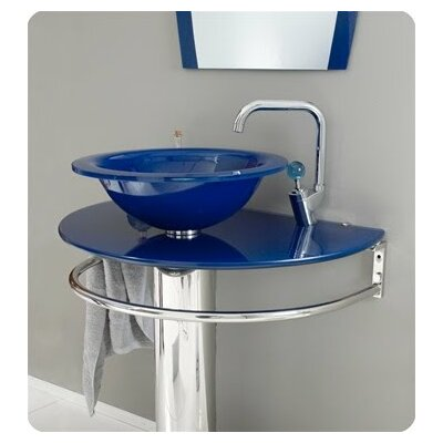 Pedestal Sink With Vessel Bowl : Kokols 30