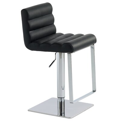 Nuevo Fanning Adjustable Bar Stool