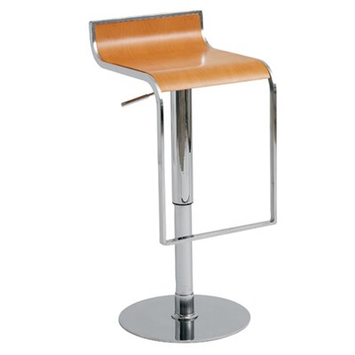 Nuevo Nero Adjustable Bar Stool