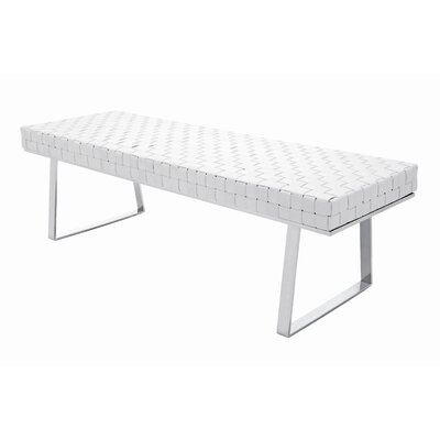 Karlee Leather Bench