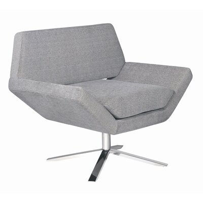 Nuevo Sly Lounge Chair in Grey