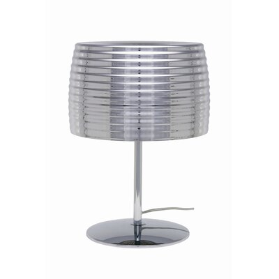 """Nuevo Chromium 18"""" H Table Lamp with Empire Shade"""