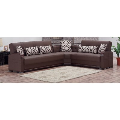 Alpine Convertible Sectional Sofa