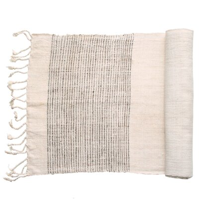 Sustainable Threads Borders Peace Silk Table Runner