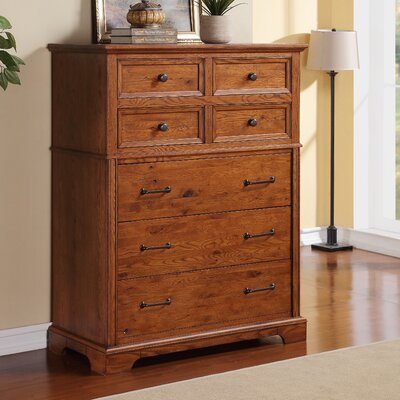 Oak Hill 6 Drawer Chest