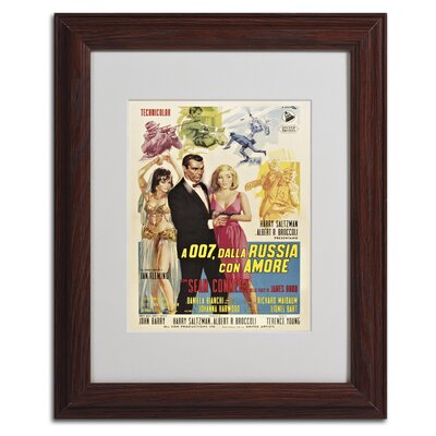 Vintage Apple 'From Russia With Love' Framed Art