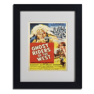 Vintage Apple 'Ghost Riders of the West' Framed