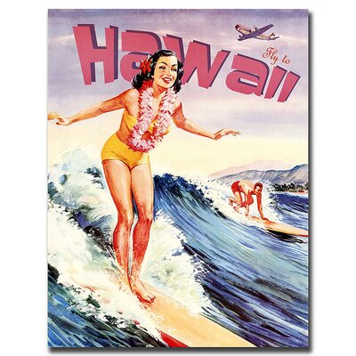 "Trademark Fine Art Hawaii, Traditional Canvas Art - 32"" x 24"""