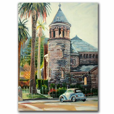 "Trademark Fine Art Chappel by Colleen Proppe, Canvas Art - 19"" x 14"""